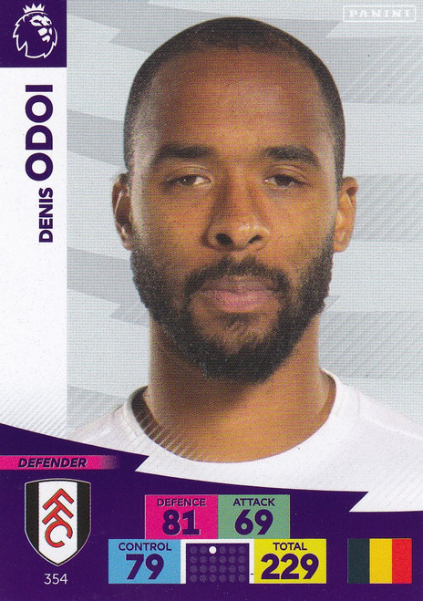 #354 Dennis Odoi (Fulham) Adrenalyn XL Premier League 2020/21