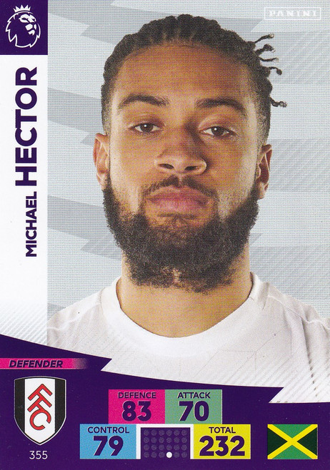 #355 Michael Hector (Fulham) Adrenalyn XL Premier League 2020/21