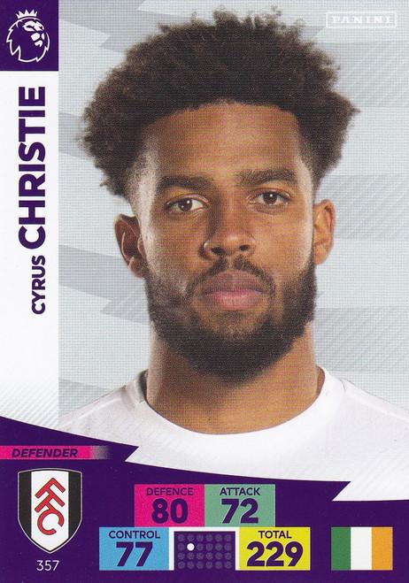 #357 Cyrus Christie (Fulham) Adrenalyn XL Premier League 2020/21