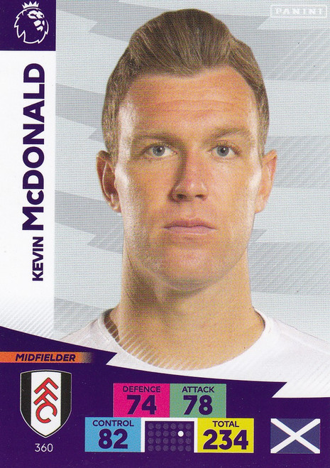 #360 Kevin McDonald (Fulham) Adrenalyn XL Premier League 2020/21