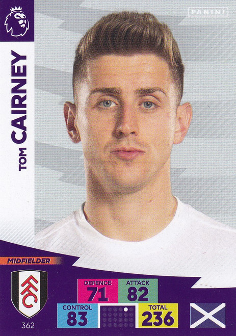 #362 Tom Cairney (Fulham) Adrenalyn XL Premier League 2020/21