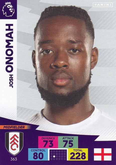 #363 Josh Onomah (Fulham) Adrenalyn XL Premier League 2020/21