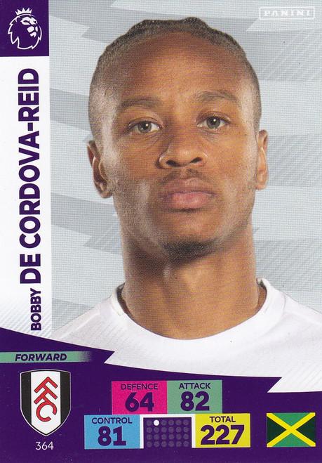 #364 Bobby Decordova-Reid (Fulham) Adrenalyn XL Premier League 2020/21