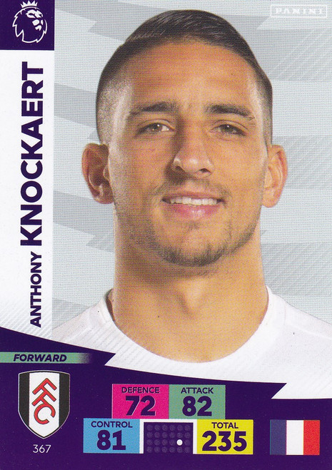 #367 Anthony Knockaert (Fulham) Adrenalyn XL Premier League 2020/21