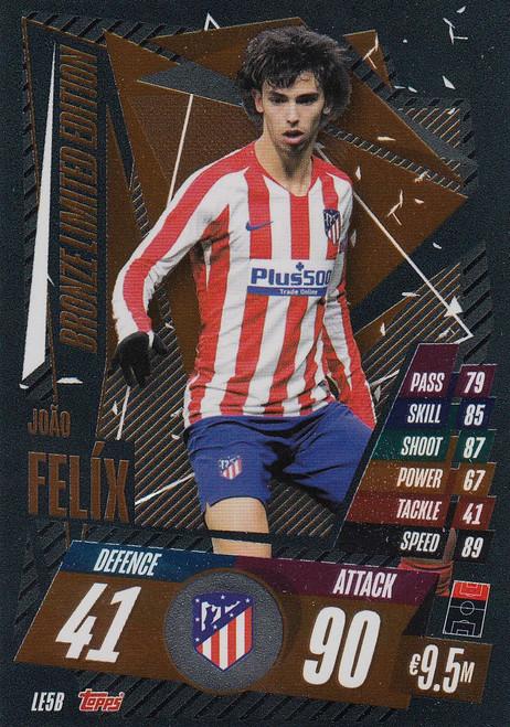 #LE5B Joao Felix (Atletico De Madrid) Match Attax Champions League 2020/21 BRONZE LIMITED EDITION