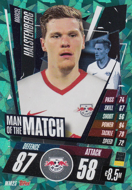 #MM23 Marcel Halstenberg (RB Leipzig) Match Attax Champions League 2020/21 MAN OF THE MATCH