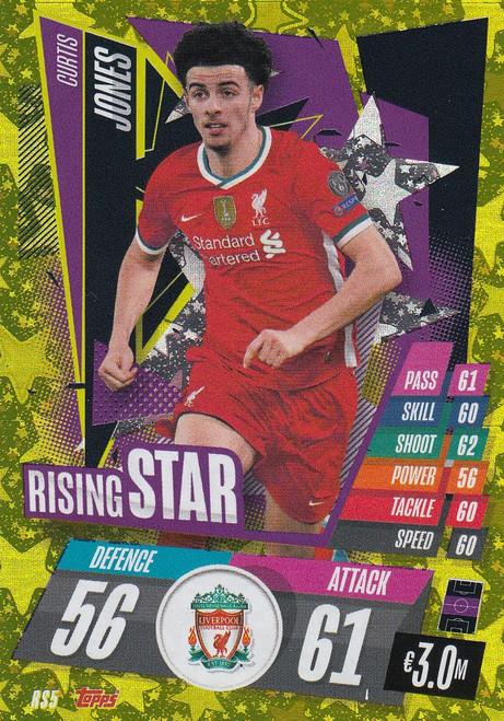 #RS5 Curtis Jones (Liverpool) Match Attax Champions League 2020/21 RISING STAR