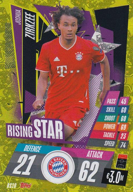 #RS10 Joshua Zirkzee (FC Bayern München) Match Attax Champions League 2020/21 RISING STAR