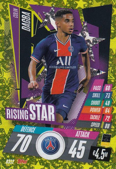 #RS12 Colin Dagba (Paris Saint-Germain) Match Attax Champions League 2020/21 RISING STAR