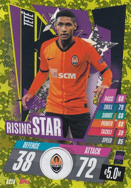#RS16 Teté (FC Shakhtar Donetsk) Match Attax Champions League 2020/21 RISING STAR