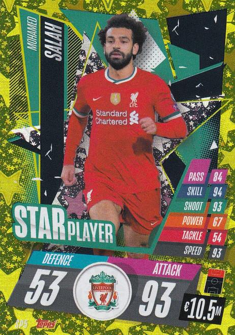 #SP5 Mohamed Salah (Liverpool) Match Attax Champions League 2020/21 STAR PLAYER