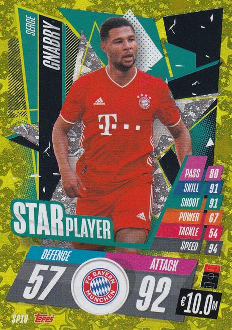 #SP10 Serge Gnabry (FC Bayern München) Match Attax Champions League 2020/21 STAR PLAYER