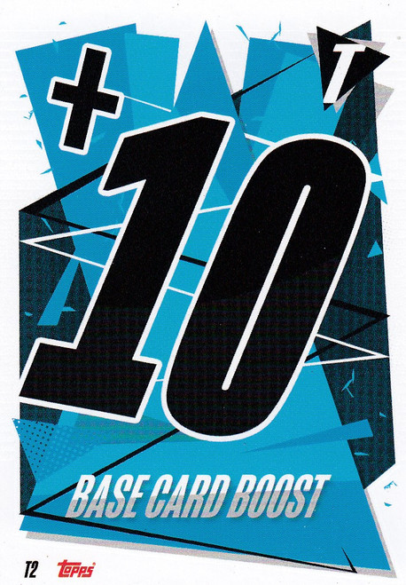 #T2 Base Card Boost Match Attax Champions League 2020/21 TACTIC CARD