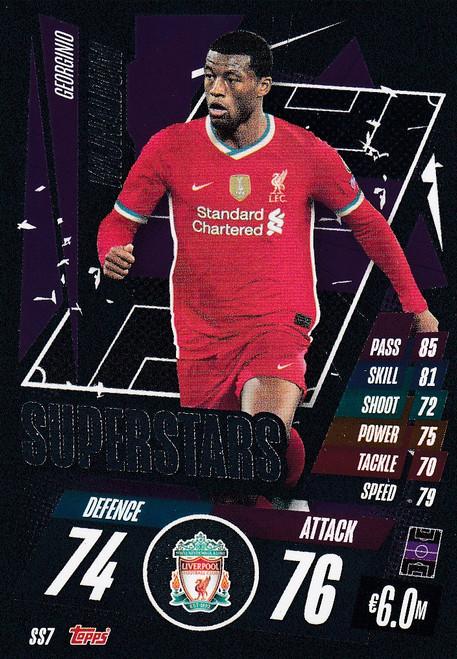 #SS7 Georginio Wijnaldum (Liverpool) Match Attax Champions League 2020/21 SUPERSTAR