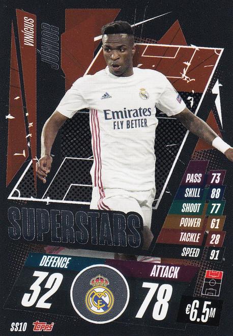 #SS10 Vinícius Júnior (Real Madrid CF) Match Attax Champions League 2020/21 SUPERSTAR