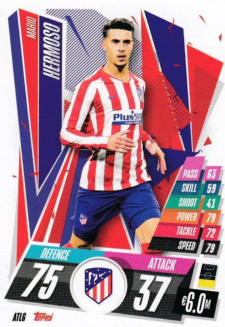 #ATL6 Mario Hermoso (Atlético de Madrid) Match Attax Champions League 2020/21