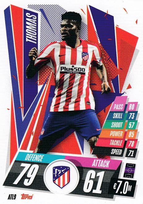 #ATL9 Thomas (Atlético de Madrid) Match Attax Champions League 2020/21