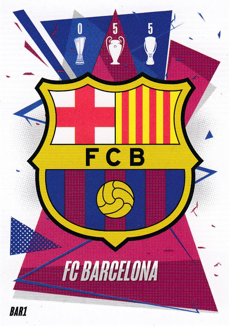 #BAR1 Club Badge (FC Barcelona) Match Attax Champions League 2020/21