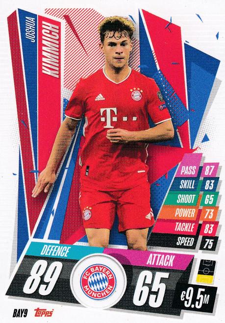 #BAY9 Joshua Kimmich (FC Bayern Munchen) Match Attax Champions League 2020/21