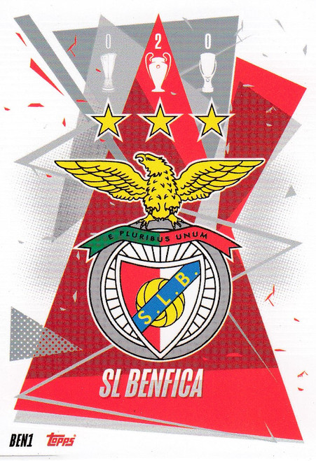#BEN1 Club Badge (SL Benfica) Match Attax Champions League 2020/21