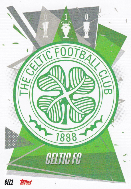 #CEL1 Club Badge (Celtic FC) Match Attax Champions League 2020/21