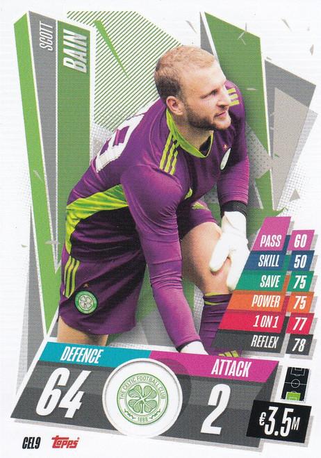 #CEL9 Scott Bain (Celtic FC) Match Attax Champions League 2020/21