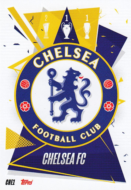 #CHE1 Club Badge (Chelsea FC) Match Attax Champions League 2020/21