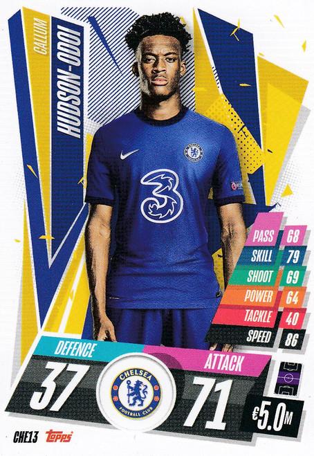 #CHE13 Callum Hudson-Odoi (Chelsea FC) Match Attax Champions League 2020/21
