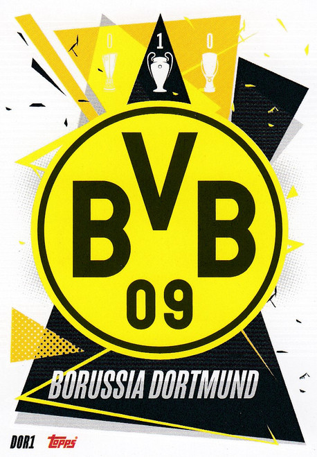 #DOR1 Club Badge (Borussia Dortmund) Match Attax Champions League 2020/21