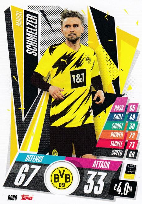 #DOR8 Marcel Schmelzer (Borussia Dortmund) Match Attax Champions League 2020/21