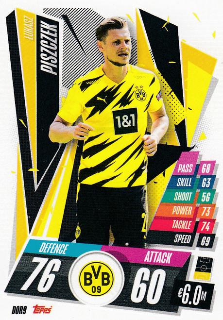 #DOR9 Lukasz Piszczek (Borussia Dortmund) Match Attax Champions League 2020/21
