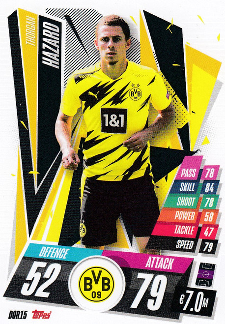 #DOR15 Thorgan Hazard (Borussia Dortmund) Match Attax Champions League 2020/21