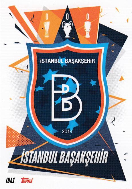 #IBA1 Club Badge (İstanbul Başakşehir) Match Attax Champions League 2020/21