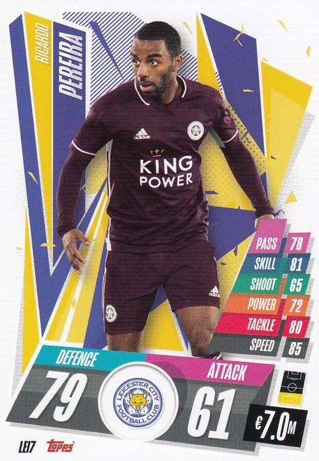 #LEI7 Ricardo Pereira (Leicester City) Match Attax Champions League 2020/21