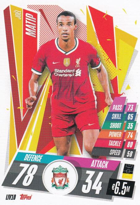 #LIV10 Joél Matip (Liverpool FC) Match Attax Champions League 2020/21