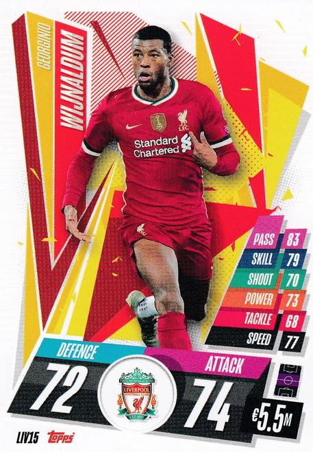 #LIV15 Georginio Wijnaldum (Liverpool FC) Match Attax Champions League 2020/21