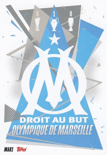 #MAR1 Club Badge (Olympique de Marseille) Match Attax Champions League 2020/21