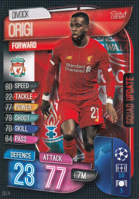 #SU4 Divock Origi (Liverpool FC) Match Attax EXTRA 2019/20