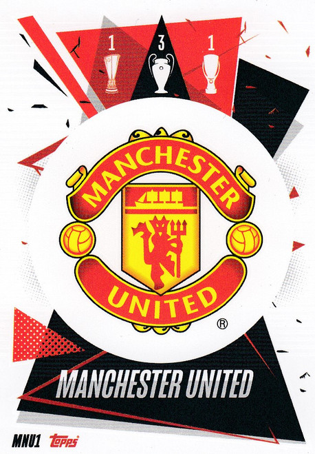 #MNU1 Club Badge (Manchester United) Match Attax Champions League 2020/21