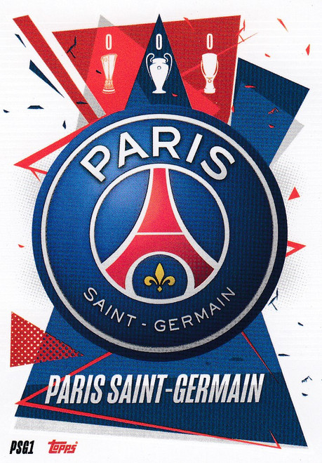 #PSG1 Club Badge (Paris Saint-Germain) Match Attax Champions League 2020/21