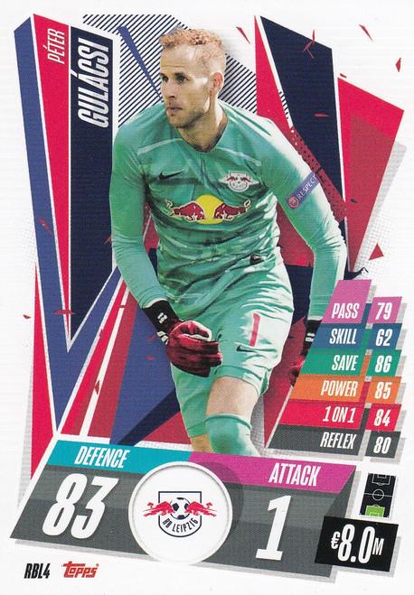 #RBL4 Péter Gulácsi (RB Leipzig) Match Attax Champions League 2020/21