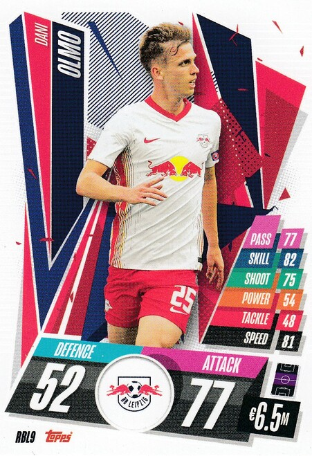 #RBL9 Dani Olmo (RB Leipzig) Match Attax Champions League 2020/21
