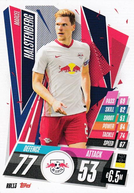 #RBL13 Marcel Halstenberg (RB Leipzig) Match Attax Champions League 2020/21