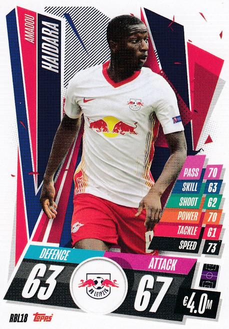 #RBL18 Amadou Haidara (RB Leipzig) Match Attax Champions League 2020/21