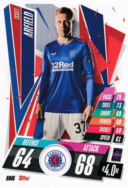 #RNG6 Scott Arfield (Rangers FC) Match Attax Champions League 2020/21