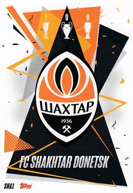 #SHA1 Club Badge (FC Shakhtar Donetsk) Match Attax Champions League 2020/21