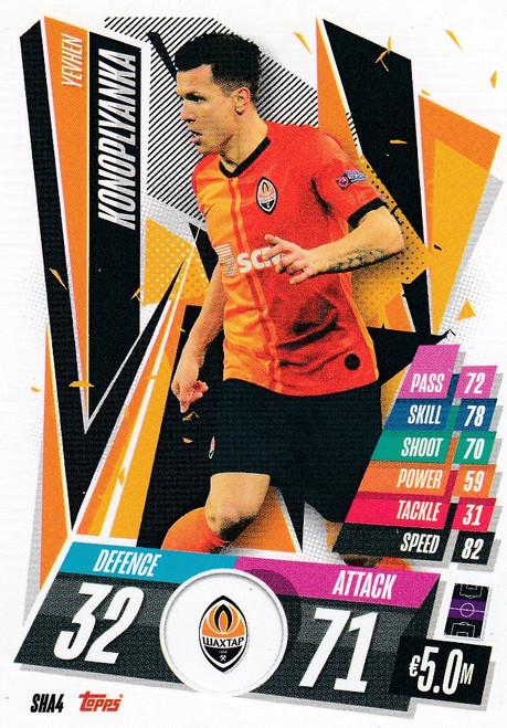 #SHA4 Yevhen Konoplyanka (FC Shakhtar Donetsk) Match Attax Champions League 2020/21