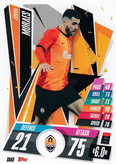 #SHA5 Júnior Moraes (FC Shakhtar Donetsk) Match Attax Champions League 2020/21