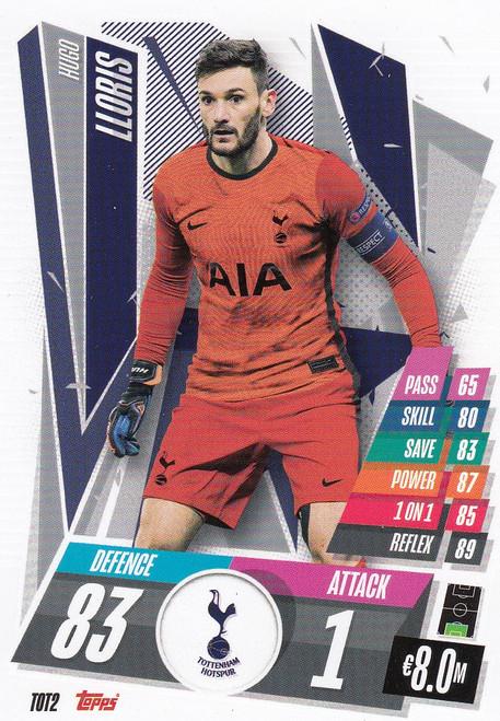 #TOT2 Hugo Lloris (Tottenham Hotspur) Match Attax Champions League 2020/21