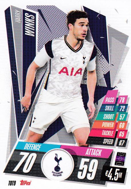 #TOT9 Harry Winks (Tottenham Hotspur) Match Attax Champions League 2020/21